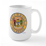 Delaware Mason Large Mug