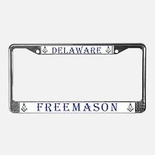 Delaware Masons License Plate Frame