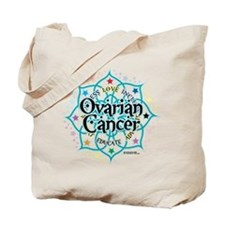 Ovarian Cancer Lotus Tote Bag
