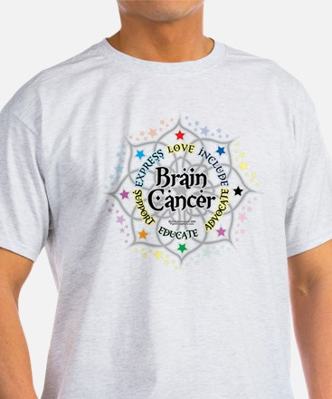 Brain Cancer Lotus T-Shirt