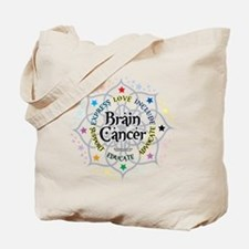 Brain Cancer Lotus Tote Bag