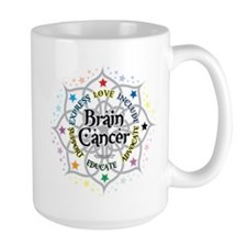 Brain Cancer Lotus Mug