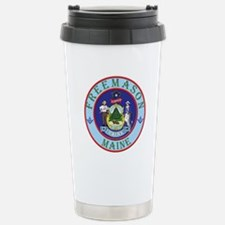 Maine Mason Travel Mug