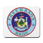 Maine Mason Mousepad