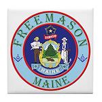 Maine Mason Tile Coaster