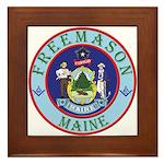 Maine Mason Framed Tile