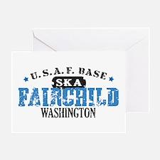 Fairchild Air Force Base Greeting Card