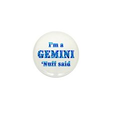 Gemini Mini Button (10 pack)
