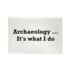 Archaeologist Rectangle Magnet (10 pack)