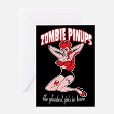 Funny Cute vampire Greeting Card