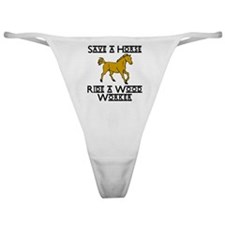 Wood Worker Classic Thong