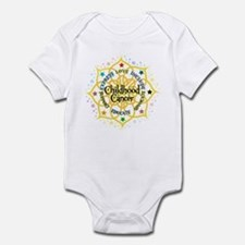Childhood Cancer Lotus Infant Bodysuit