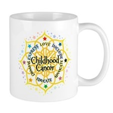 Childhood Cancer Lotus Mug
