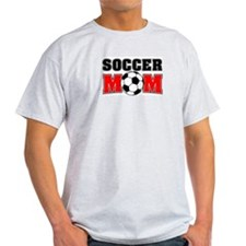 Soccer Mom Ash Grey T-Shirt