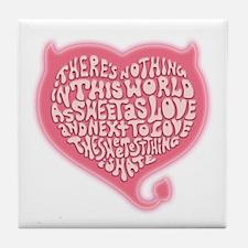 Sweetness Tile Coaster