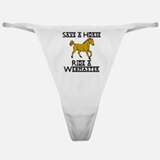 Webmaster Classic Thong