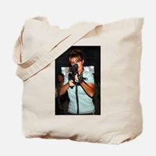 Sarah Taking Aim Tote Bag