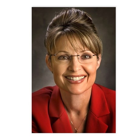 Palin Portrait Postcards (Package of 8)