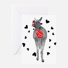 Kiss Off Anti-Valentine's Day Greeting Card
