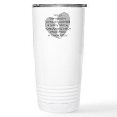 Anti-Valentine Travel Mug