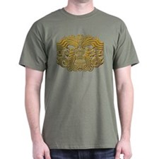 Maori Tattoo-gold T-Shirt