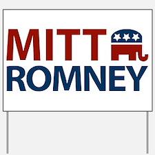 Mitt Romney GOP Yard Sign