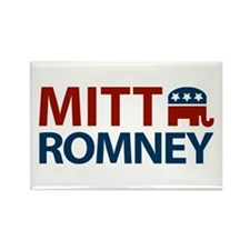 Mitt Romney GOP Rectangle Magnet