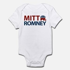 Mitt Romney GOP Infant Bodysuit