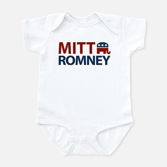 Mitt Romney GOP Infant Bodysuit