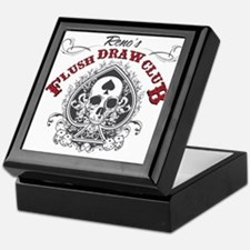 Flush Draw Club Keepsake Box