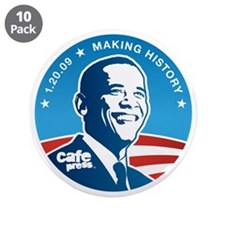"Official CP Inauguration 3.5"" Button (10 pack)"