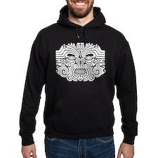 Maori Tatto-black & white Hoody