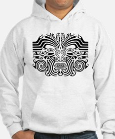 Maori Tatto-black & white Jumper Hoody