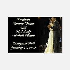 Obama Inaugural Dance Rectangle Magnet
