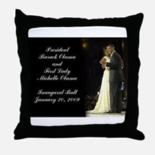Obama Inaugural Dance Throw Pillow