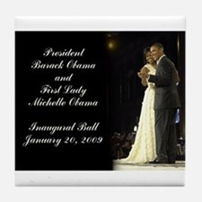 Obama Inaugural Dance Tile Coaster
