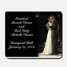 Obama Inaugural Dance Mousepad