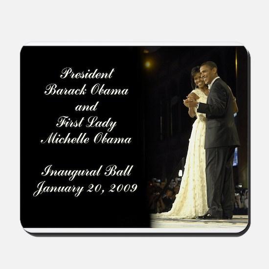 Obama Inaugural Dance Mousepad