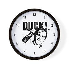 Bush Duck! Wall Clock