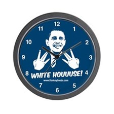 White Houuuse! Wall Clock
