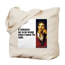 "Moliere ""Infuriates"" Tote Bag"