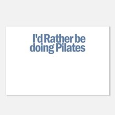I'd Rather be doing Pilates Postcards (Package of