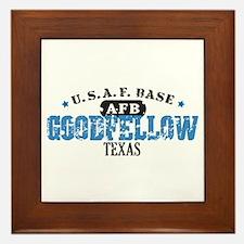 Goodfellow Air Force Base Framed Tile