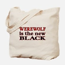 Werewolf is the New Black Tote Bag (Both Sides)