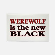Werewolf is the New Black Rectangle Magnet