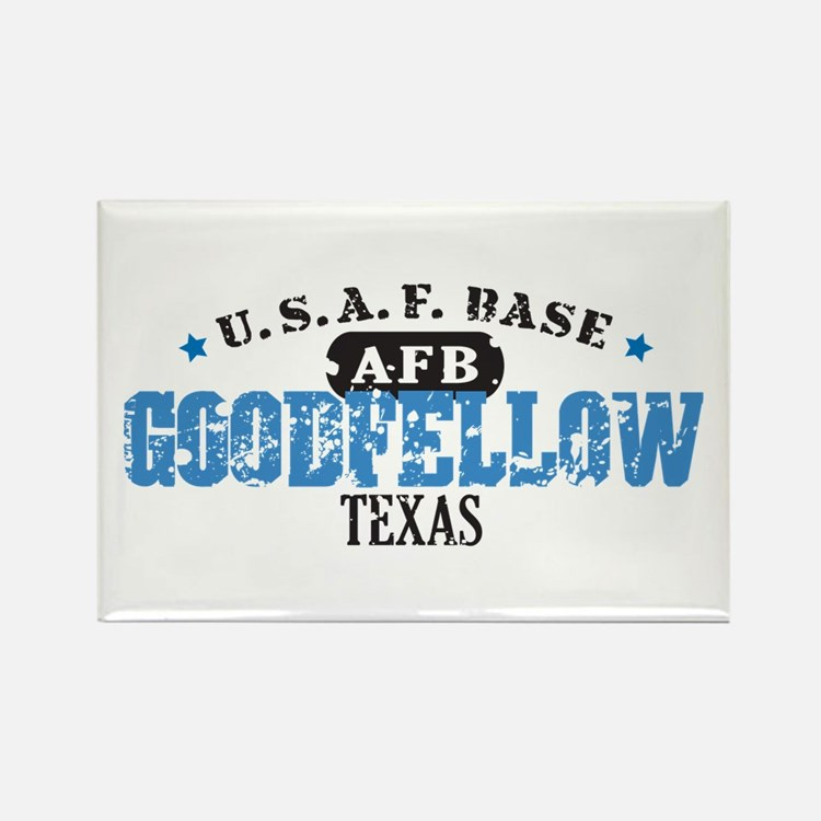 Goodfellow Air Force Base Rectangle Magnet