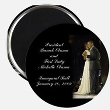 Obama Inaugural Dance Magnet