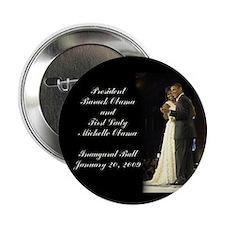 """Obama Inaugural Dance 2.25"""" Button"""