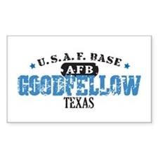 Goodfellow Air Force Base Rectangle Decal