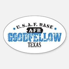 Goodfellow Air Force Base Oval Decal